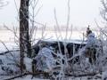 Карта АТО: украинский военный ранен около Зайцево