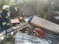 В Днепре взорвался дом, хозяйка в тяжелом состоянии