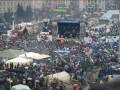 Майдан ожил после праздников: как проходило седьмое народное вече (ФОТО)