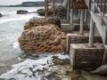 В Одессе шторм смыл несколько пляжей