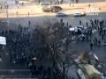 Силовики оттесняют митингующих к Майдану