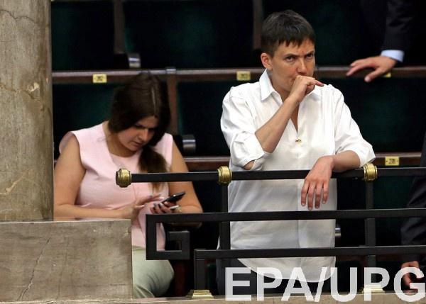 Савченко больше не представляет Раду в ПАСЕ