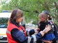 В Полтаве из горящего дома спасли ребенка