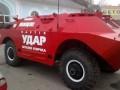 В Борисполе установлен БТР с агитацией за партию УДАР