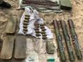 В Луганской области найден тайник с боеприпасами, сделанный участником НВФ