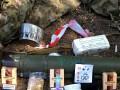 Под Каменкой боевики оставили сухпайки и боеприпасы российского происхождения