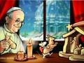 Накануне Рождества Папу Римского