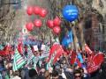 В Риме прошли массовые акции протеста