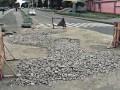 В центре Киева в десятый раз на том же месте образовалась яма