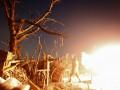В Дебальцево зафиксировали 13 взрывов за час
