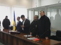 Стрелявшего под Соломенским судом в полицейского отправили под домашний арест