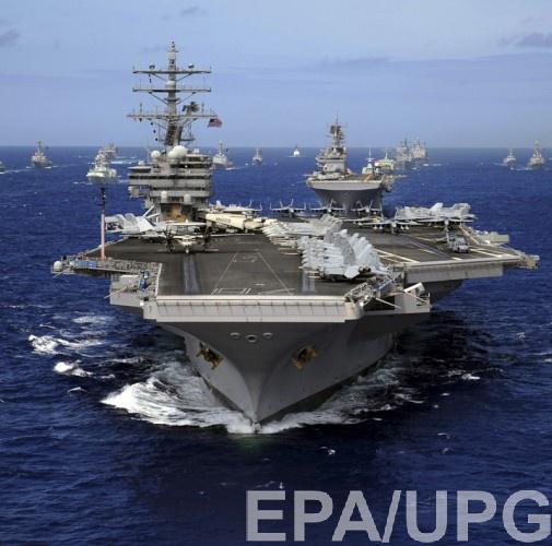 USS Ronald Reagan снова отправляют к берегам Кореи