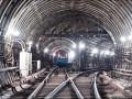 Беспилотник показал тоннели киевского метро