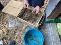 В Донецкой области пограничники обнаружили тайник с боеприпасами
