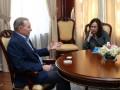 Кучма встретился с координатором ООН и обсудил прекращение огня на Донбассе