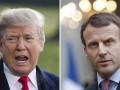 Трамп обсудил с Макроном ситуацию в Иране и КНДР