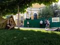 Киевляне вломились на стройплощадку на Почтовой площади
