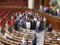 Рада запретила блокировать трибуну и голосовать за других