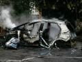 В Киеве после зарядки сгорел электрокар