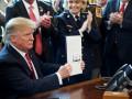 Трамп впервые наложил вето на резолюцию Сената США