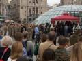 На Майдане попрощались c погибшим под Счастьем волонтером Галущенко