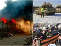 Итоги выходных: пожар на Петровке, протесты в Москве и танки НАТО на границе с РФ