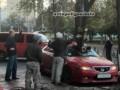 В Киеве упавшая ветка разбила машину