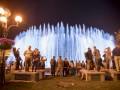 В Киеве на Майдане открыли свето-музыкальный фонтан