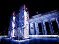 В Берлине установили монумент, изображающий автобусы из Алеппо