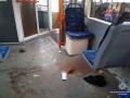 В Киеве в трамвае часть ходовой пробила пол и сломала ногу старушке
