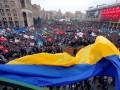 ФОТО недели: старый и новый Евромайдан