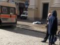 Во Львове глыба льда, упавшая с крыши церкви, убила женщину