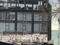 В Одессе стена нового корпуса дельфинария