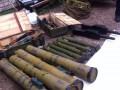 СБУ обнаружила один из крупнейших тайников боеприпасов в АТО