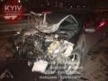 ДТП на Южном мосту: Toyota врезалась в отбойник