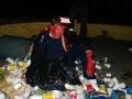Пилипишин пожаловался в милицию на активистов, бросивших его в мусорку