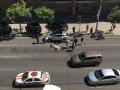 В Киеве на Саксаганского Nissan сбил мужчину, перебегавшего дорогу