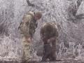 На Донбассе военные врачи спасли раненую фронтовую собаку. 18+