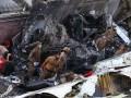 Появилось видео с падением самолета в Пакистане