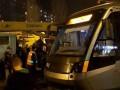 В Киеве сошел с рельсов скоростной трамвай