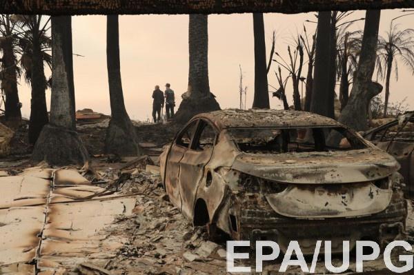 Калифорния после масштабного лесного пожара