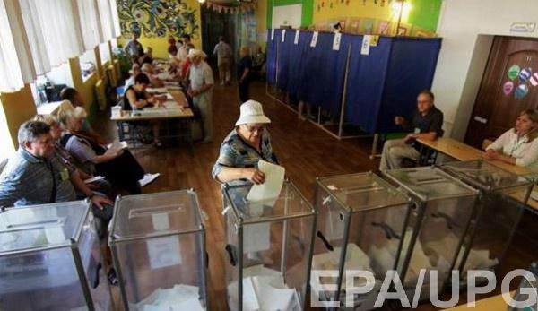 В Украине состоялись досрочные выборы в Раду