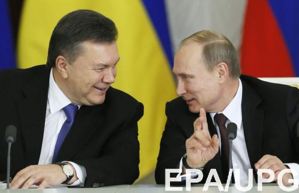 ВКремле неполучали письмо Януковича спросьбой ввести войска вгосударство Украину