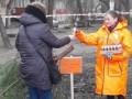 В Одессе ненужные елки можно обменять на конфеты