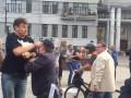 Путинские титушки избили участников антивоенного митинга в Москве
