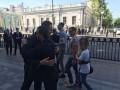 Квартал 95 прибыл в Раду: их пускают без очередей
