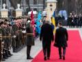 """Эрдоган поздоровался с почетным караулом словами """"Слава Украине"""""""