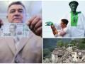 Неделя в фото: День Независимости Украины, новая купюра и землетрясение в Италии