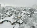 Украину засыпает снегом
