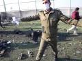 На месте крушения украинского авиалайнера происходит сбор обломков и тел погибших